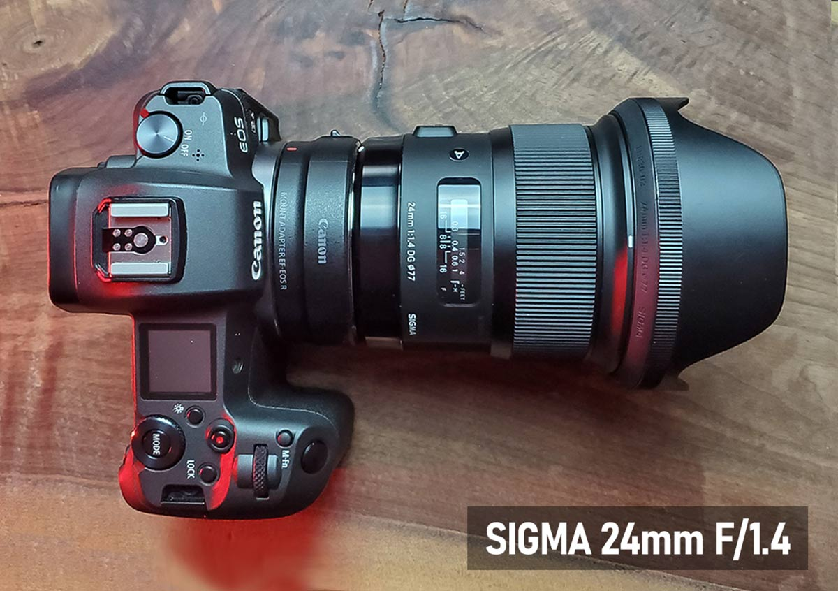 Sigma 24mm F/1.4 lens