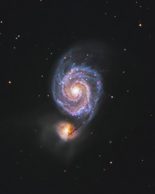 M51 Whirlpool Galaxy