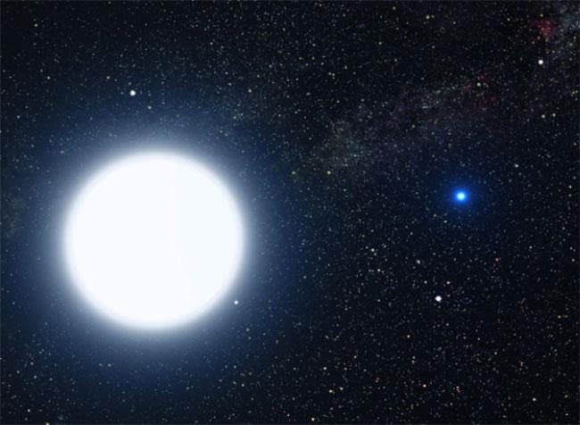 Sirius binary star system
