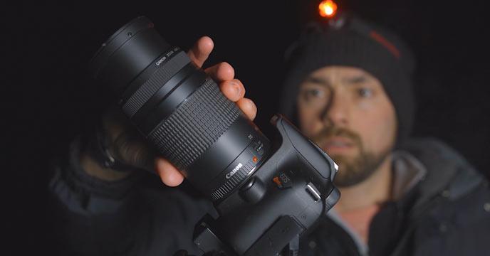 Canon EF 75-300mm Lens