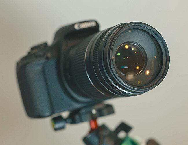 Canon EF 75-300mm F/4-5.6 lens
