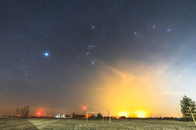 light pollution example