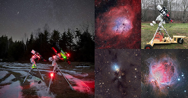 astrophotography kit example