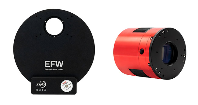 Telescope filter wheel