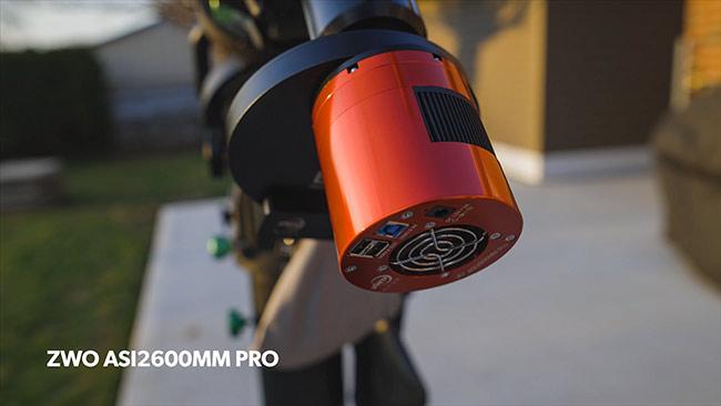 ZWO ASI2600MM Pro camera