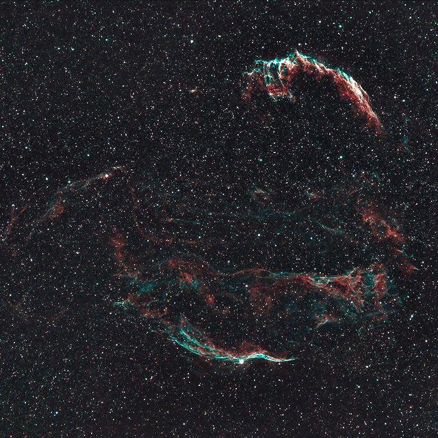 Veil Nebulas by Josh Wilson