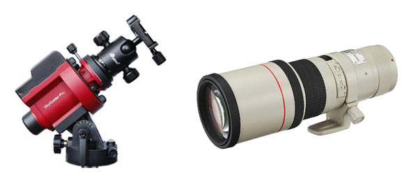star tracker and lens