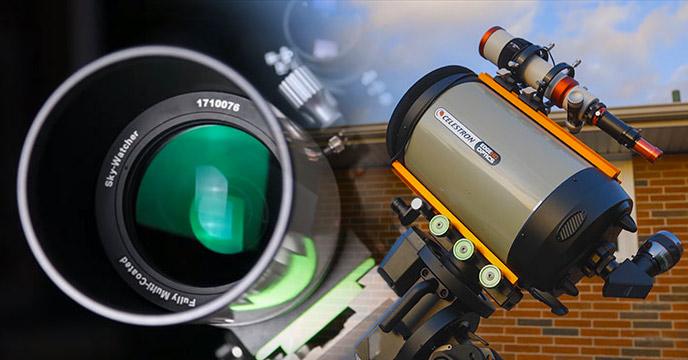 Types of telescopes