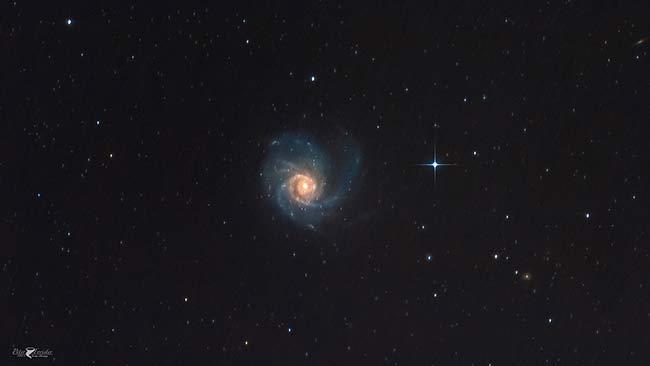 Peter Pinwheel Galaxy