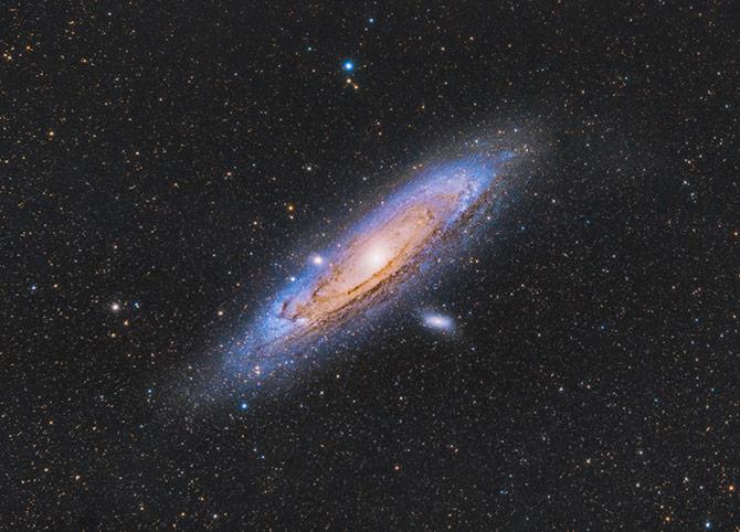 Andromeda Galaxy by Trevor Jones
