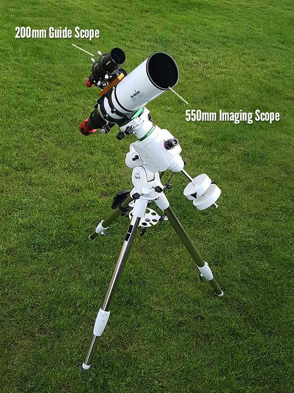 guide scope focal length