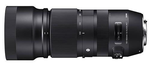 Sigma 100-400 lens