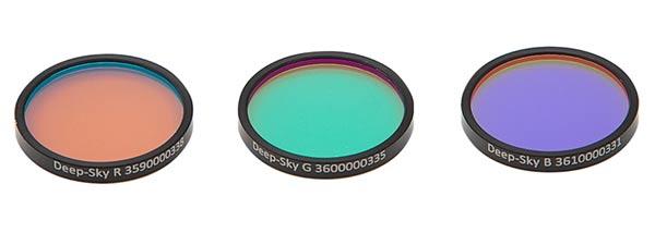 Astronomik LRGB filters