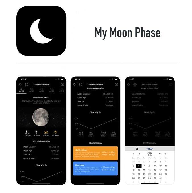 My Moon Phase App
