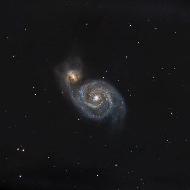 Robert Leach Whirlpool Galaxy