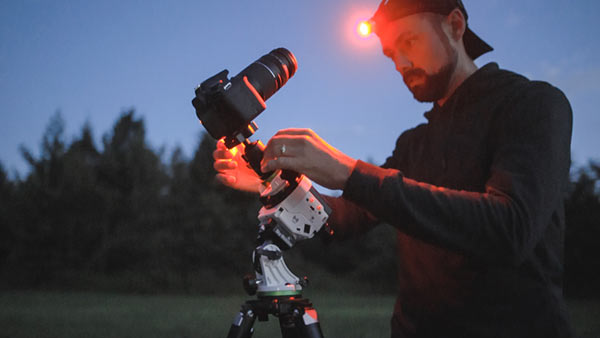 astrophotography camera lens