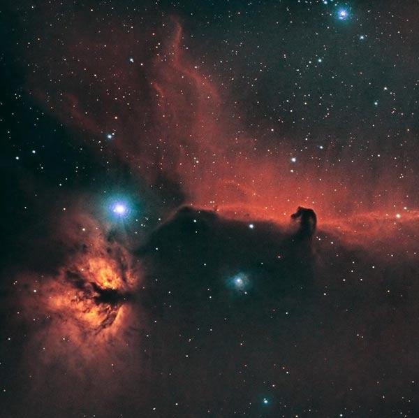 Horsehead Nebula by Robert Leach