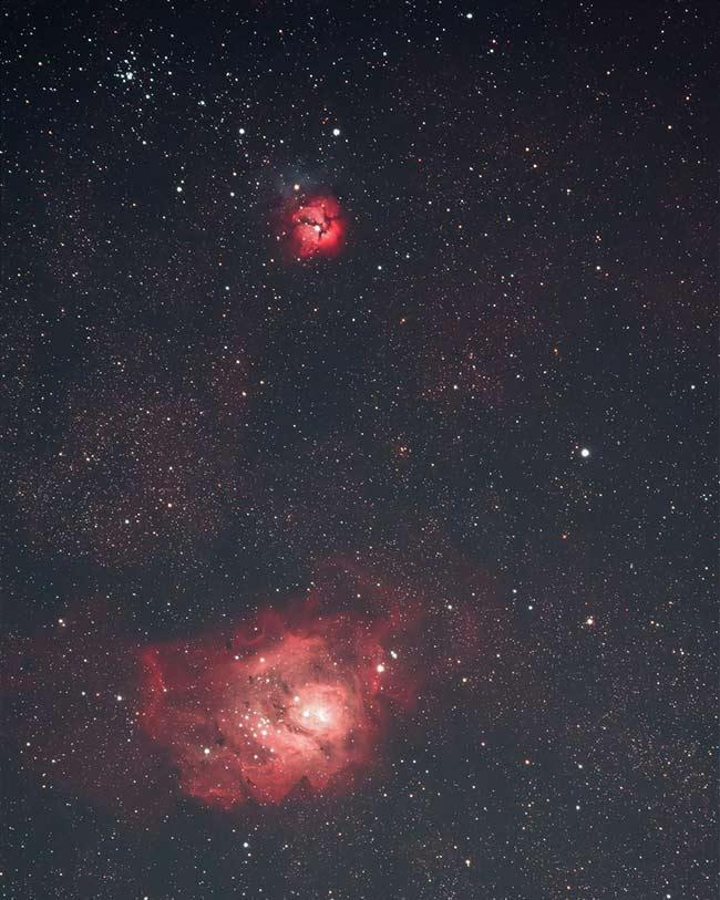Lagoon Nebula Michael Melwiki