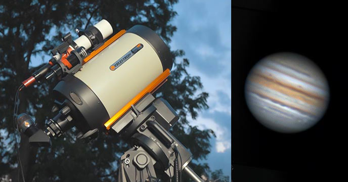 how to photograph Jupiter