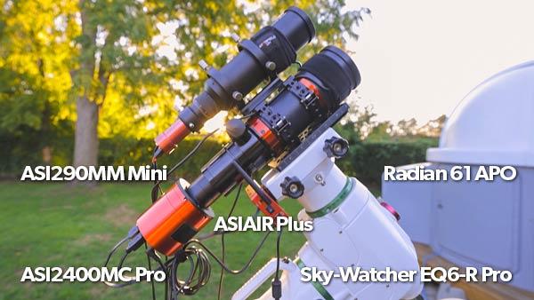 astrophotography equipment