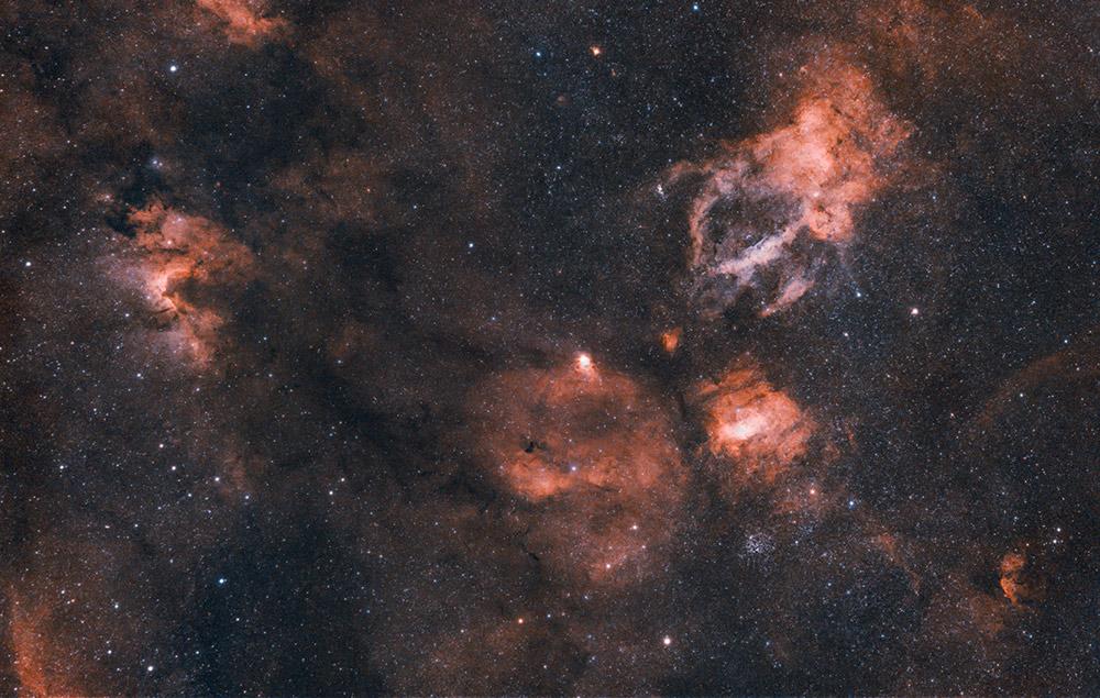 Lobster Claw Nebula